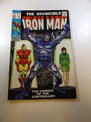 Iron Man #12 1st appearance of the Controller FN/VF condition