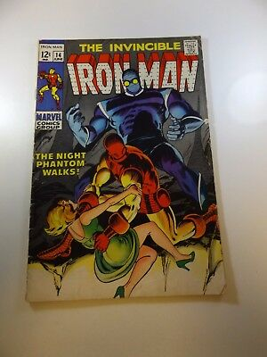 Iron Man #14 VG- condition Free shipping on orders over $100.00!