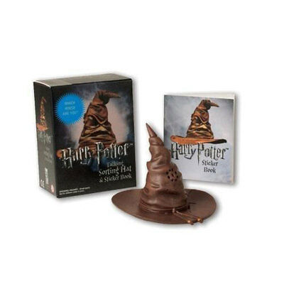 Harry Potter Talking Sorting Hat And Sticker Book, Christmas Shop, Brand New