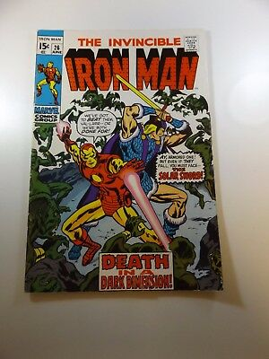 Iron Man #26 FN- condition Huge auction going on now!