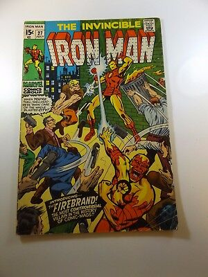 Iron Man #27 VG- condition Huge auction going on now!