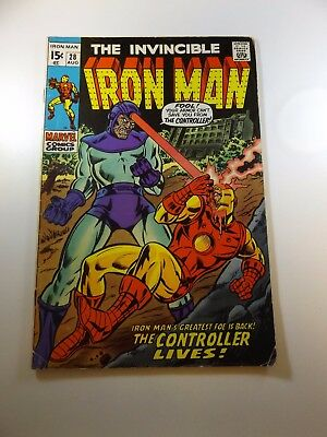 Iron Man #28 VG condition Huge auction going on now!