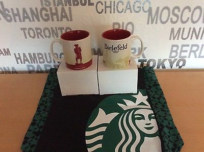 Starbucks City Global Icon Mug 16 Oz Bielefeld 1 Tasse / mug made in Thailand