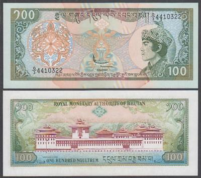 ND (1994) Royal Monetary Authority Of Bhutan 100 Ngultrum (CU)