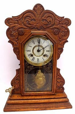 NEW HAVEN CLOCK CO New American Striking Vintage Mantel Clock - M31