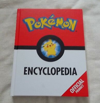 Childrens Book - The Official Pokemon Encyclopedia - Hardback - VGC