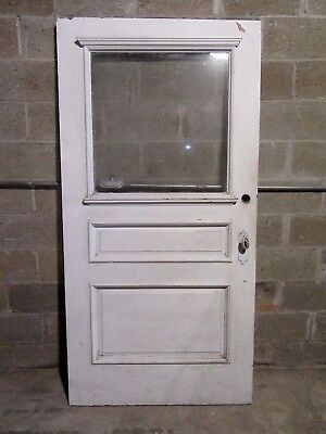 ~  Antique  Victorian Door ~  40 X 79.25  ~ Architectural Salvage  ~