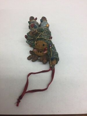 """Malley Twinklemoose"" Boyds Bears Critter & Co Moose Christmas Tree Ornament"