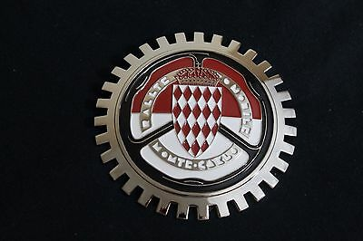 Monte Carlo Rally Grille Badge Bumper License Topper Accessory GT Renault Fiat