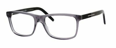 4b1ec1674e7 NEW CHRISTIAN DIOR Homme Black Tie 140 TSM Smoke Black Eyeglasses ...