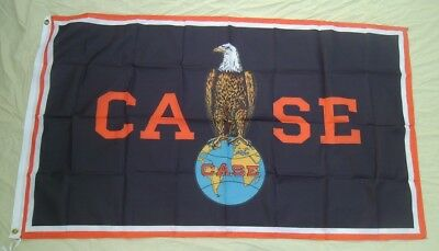 Case Tractor Eagle 3' X 5' Polyester Flag Banner Man Cave NEW # 272