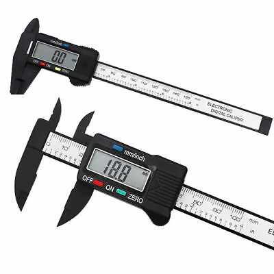"0 - 150MM 6"" LCD Digital Electronic Vernier Caliper Gauge Micrometer Ruler Tool"