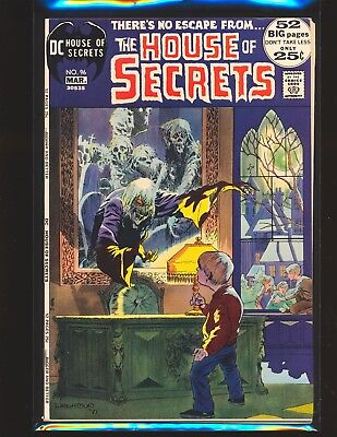 House of Secrets # 96 - Wrightson cover Fine/VF Cond.