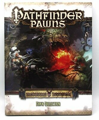 Pathfinder PZO1028 Ironfang Pawn Collection Cardboard Monsters Creatures Heroes