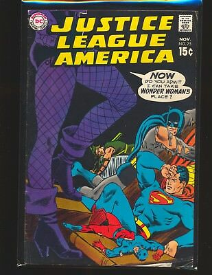 Justice League of America # 75 - 1st Dinah Lance Black Canary VG Cond.