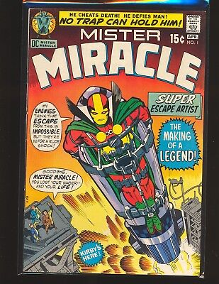 Mister Miracle # 1 - 1st appearance Fine Cond.