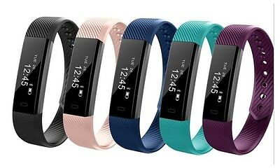 Veryfit ID115 HR❤Strap Smart Band FITNESS TRACKER/SLEEP MONITOR Heart Rate Watch