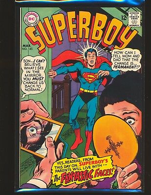 Superboy # 145 - Neal Adams cover VF/NM Cond.
