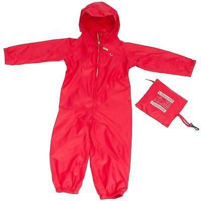 Hippychick WATERPROOF PACKASUIT 3-4 YEARS RED Baby Outdoor Clothing BN