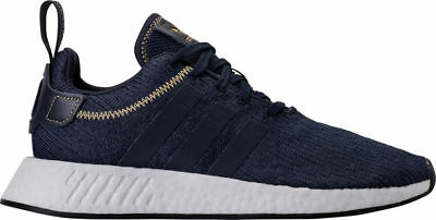 MEN S ADIDAS NMD R2 Casual Shoes Navy White AC8195 NBG -  106.04 ... ed084dedc96e