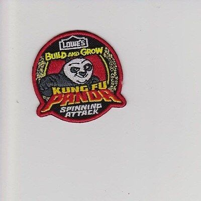 Lowes Kung Fu Panda Spinning Attack Patch