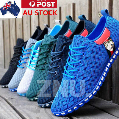 AU Mesh England Casual Sports Athletic Shoes Mens Breathable Running Shoes