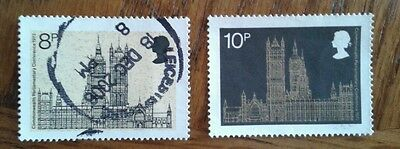Complete GB used stamp set: 1973 19th Commonwealth Parliamentary Conference