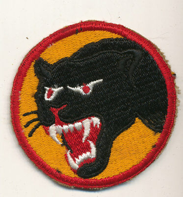 66th Infantry Division patch formation sign real WWII make US Army Black Cat