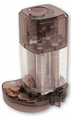 Automatic Coin Sorter Piggy Bank - Clear Standing First Piggie Bank Toy Sorts