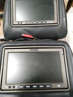 Car Headrest Monitors with DVD Players by VizuaLogic bundle I'm tested for parts