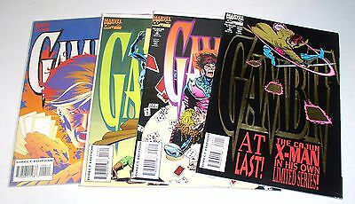 GAMBIT #1 #2 #3 and #4  Complete 1st mini-series