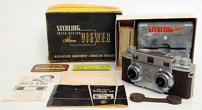 Revere Stereo 33 Camera & Sterling Stereo Viewer, Lot 135
