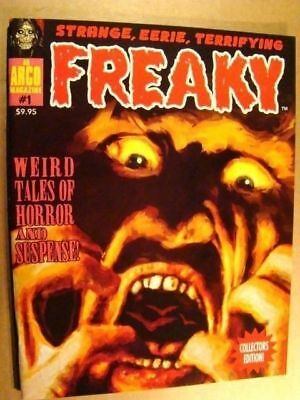 Freaky 1 Eerie Creepy Famous Monsters *nm/mt 9.8* Virgil Finlay