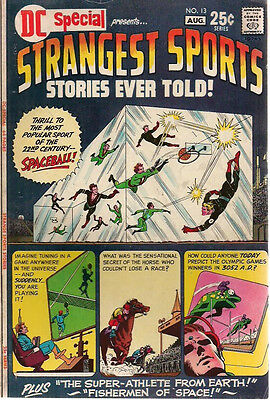 DC SPECIAL #13 STRANGEST SPORTS STORIES EVER TOLD! (1971) DC Comics  VG+
