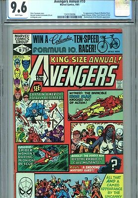 Avengers Annual #10 CGC 9.6 Spider-Woman 1st Rogue Marvel Comics 1981