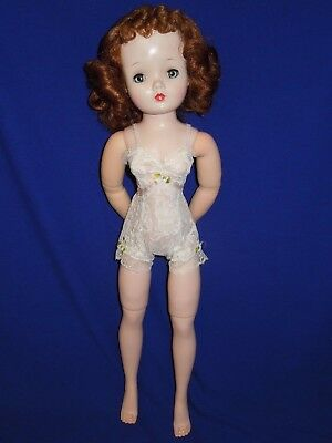 Vintage 1950's Madame Alexander Cissy doll in tagged chemise