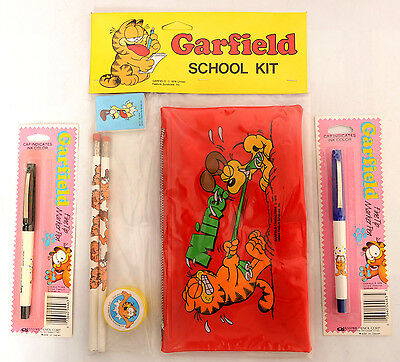Garfield Pencil Case, New Old Stock from 1978, Plus More!