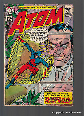 The Atom 1 DC Comic Book 1962 G-VG Solid Complete!