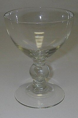 """Imperial Glass CANDLEWICK Stem #3800 Clear 1 ball Champagne/Tall Sherbet 4 3/8""""."""