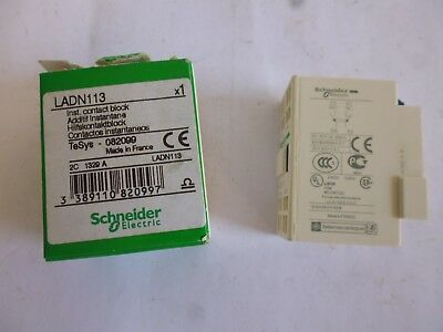 LADN113 schneider electric Contacteur auxiliaire auxiliary switches 082099