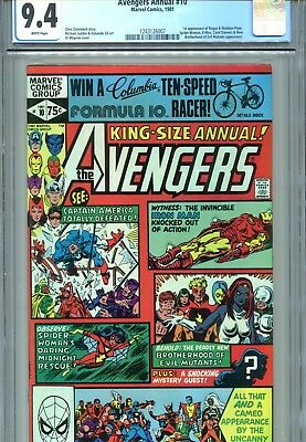Avengers Annual #10 CGC 9.4 Spider-Woman 1st Rogue Marvel Comics 1981