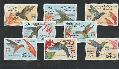 Vögel Barbuda 1462-1469** - Kolibris Birds (FG715)