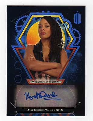 Doctor Who Extraterrestrial Encounters Nina Toussaint-White Autograph Mels #3/25