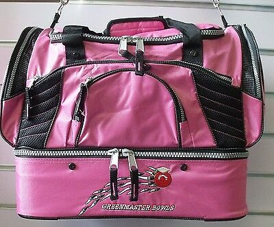 GREENMASTER Master Team Bag with 2 x 2 Bowl insert bags PINK room for your gear