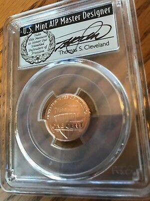2017 S Enhanced Lincoln Penny Pcgs Sp70 Rd Cleveland First Day Issue One Cent