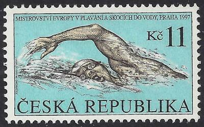 1997 Czech Republic  European Swimming and Diving Championship MNH