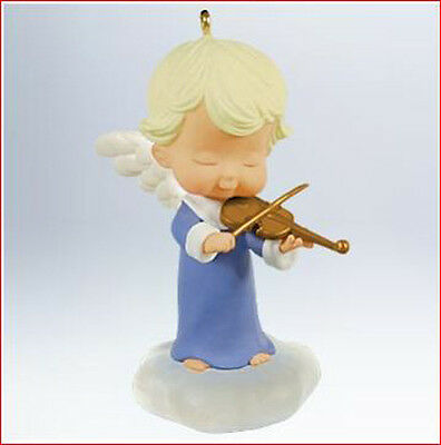 2011 Hallmark MARY'S ANGELS #24 Ornament VIOLA Little Angel with a Violin