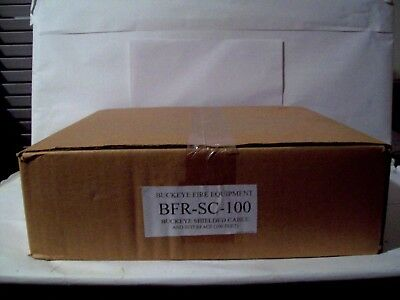 New in sealed box, Buckeye Shielded Cable 100 ft. BFR-SC-100.