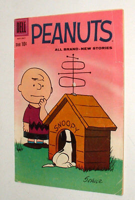 1960 Peanuts Charlie Brown Issue #5 Comic Book 3.5 Condition Complete