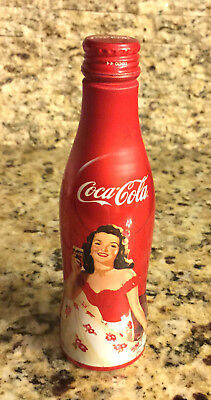 Unopened 2013 Korea Coca-Cola Old-Fashioned Girl Aluminum 250ml Bottle